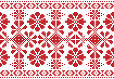 Traditional national embroidered pattern Stock Photo