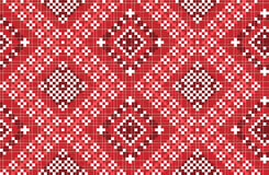 Traditional national embroidered pattern Stock Photos