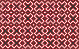 Traditional national embroidered pattern Royalty Free Stock Images