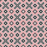 Traditional national embroidered pattern Royalty Free Stock Photos