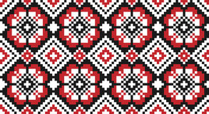 Traditional national embroidered pattern Royalty Free Stock Photography