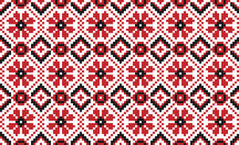 Traditional national embroidered pattern Stock Images
