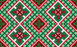 Traditional national embroidered pattern Royalty Free Stock Image