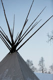 Traditional native Teepee in Arctic Stock Photography