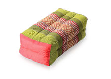 Traditional native Thai style pillow Stock Image