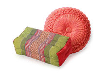 Traditional native Thai style pillow Stock Photography