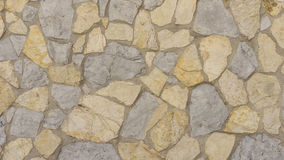 Traditional natural stonewall Stock Images