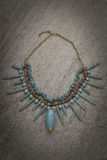 Traditional necklace Royalty Free Stock Photography