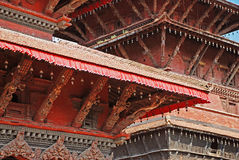 Traditional Nepal architecture Stock Photography
