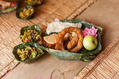 Traditional Nepal Tihar foods Royalty Free Stock Images