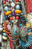 Traditional Nepalese Beads Royalty Free Stock Photography