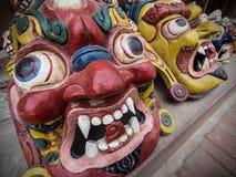 Traditional Nepalese Handicrafts at Street Market in Kathmandu, Stock Photography