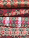 Traditional Nepali hand woven fabric upclose Royalty Free Stock Photography