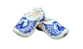 Traditional netherlands shoes Royalty Free Stock Images