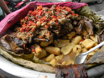 Traditional Nicaraguan food royalty free stock images