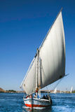 Traditional Nile Felucca Stock Images