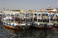 Traditional Nile motoboat Royalty Free Stock Photos
