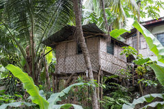 Traditional nipa hut Royalty Free Stock Images