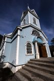 Traditional nordic church Royalty Free Stock Photo