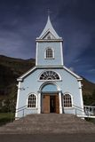 Traditional nordic church Royalty Free Stock Image
