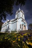 Traditional nordic church Stock Images