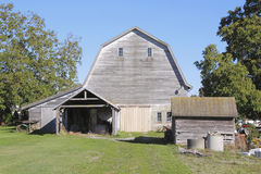 Traditional North American Farm Buildings Royalty Free Stock Photo