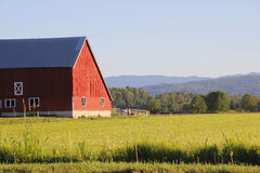 Traditional North American Rural Landscape Royalty Free Stock Photo
