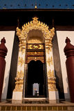 Traditional northern Thai style architecture Royalty Free Stock Image