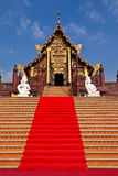 Traditional northern Thai style architecture Royalty Free Stock Photography