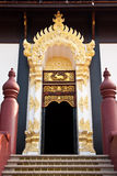 Traditional northern Thai style architecture Stock Images