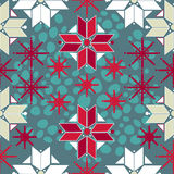 Traditional norway seamless pattern Stock Photo