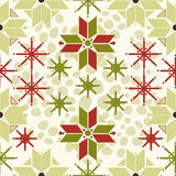 Traditional norway seamless pattern stock image