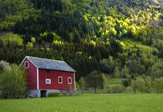 Traditional Norwegian Barn Stock Photos