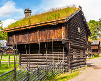 Traditional Norwegian House Stock Images