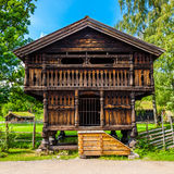 Traditional Norwegian House Stock Image