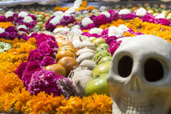 Traditional offering to the dead in mexico Stock Images