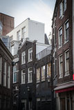 Traditional old buildings in Amsterdam Stock Photography