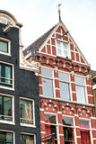 Traditional old buildings in Amsterdam, the Netherlands Stock Photography