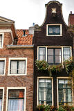 Traditional old buildings in Amsterdam, the Netherlands Royalty Free Stock Photography
