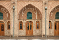 Traditional Old Caravansary with Brickwork Architecture Royalty Free Stock Image
