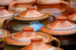Traditional old ceramics Stock Photography