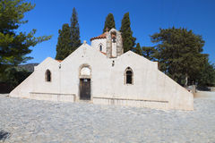Traditional old church at Crete island Royalty Free Stock Photography