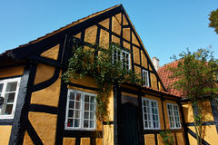Traditional old Danish house Royalty Free Stock Images