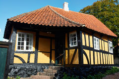 Traditional old Danish house Royalty Free Stock Photography
