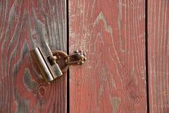 Traditional old door lock Stock Photos