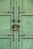 Traditional old door lock Royalty Free Stock Photos