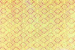 Traditional old fashioned diamond shape pattern. A closeup of an old fashioned diamond shaped repeating patterned background royalty free stock photography