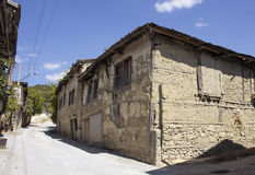 Traditional, old and historical Anatolian house Stock Photos