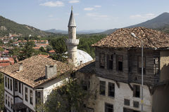 Traditional, old and historical Anatolian houses Royalty Free Stock Photos