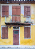 Traditional old house at Nafplio in Greece. Royalty Free Stock Photography